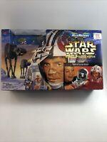 NEW MicroMachines Star Wars Rebel Pilot / Hoth Transforming Action Set 1996 NIB