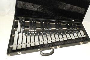 Vintage Deagan Standard #1512 Glockenspiel G-C in New Musser Case