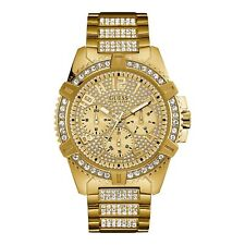 Guess W0799G2 Men's Sport Gold Tone Wristwatch