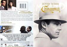 Chinatown ~ Dvd ~ Jack Nicholson, Faye Dunaway (1974) Phe