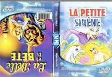 DVD La petite sirene - La belle et la bete