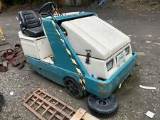 More details for tennant 6400 gas ride on floor sweeper, spares or repair