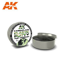 CAMOUFLAGE ELASTIC PUTTY - Reusable putty for masking areas