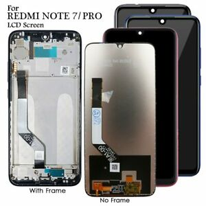 LCD Display 6.3' Touch Screen with  Frame Assembly For Xiaomi Redmi Note 7 7 Pro