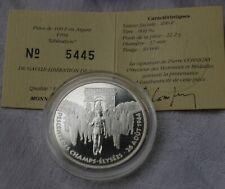 100 Fr ARGENT1994 LIBERATION PARIS / DESCENTE DES CHAMPS ELYSEES DE GAULLE