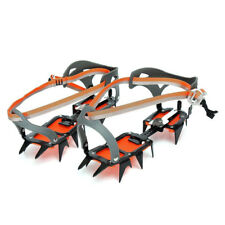 Mountaineering Crampons 14 Teeth Outdoor Antislip Ice Snow Shoe Spikes G6Q6 A6C0