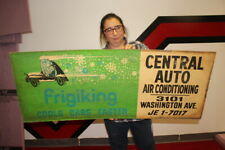 Large Vintage 1950s Frigking Central Auto Car Air Conditioning  Gas Oil 45