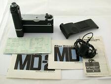 Nikon md-2 mb-1 MOTORDRIVE f2 as SB S Titan Modèle Phare mc-7 mf-3 Top Marche marche