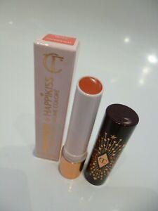 Charlotte Tilbury Hyaluronic Happikiss Color Lipstick Balm Happipeach Peach Nude