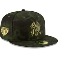 New York Yankees New Era 2019 MLB Armed Forces Day On-Field 59FIFTY Fitted Hat -
