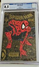 Spider-Man #1  Torment CGC 8.5  Gold Edition White Pages Todd McFarlane 1990