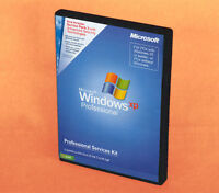 NEW Genuine Windows XP Professional SP2 - FULL RETAIL KIT (E85-02665 PSK)