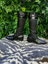 Guess by Marciano black knee high boots UK size 6.5 EU 40