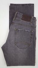 ARMANI Exchange JEANS 34 32 Distressed MENS Brown GRAY Taupe COTTON Button FLY**