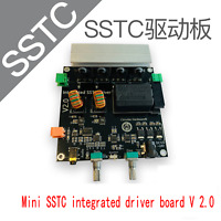 SSTC integrated drive board V 2.0  finished solid state Tesla coil of first TC