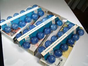 36 Sylvania Blue Dot Flashbulbs #25b