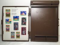 1976 Montreal Olympics Commemorative Canadian Post Office Case With Stamps