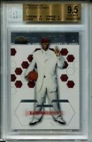 2002 Finest Basketball #178 Lebron James Rookie Card XRC Graded BGS Gem Mint 9.5