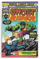 Ghost Rider vol. 1 # 11 Marvel Comics 1975 Gil Kane cover / Hulk / Inferno