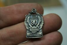 90th Anniversary Harley .925 ounce silver necklace bracelet jewelry EPS22532