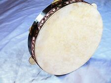 UNOSELL ::  40 x 8 cm FRAME DRUM DAF  WITH CYMBALS NEW !!!!!!!!!!