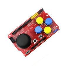 Joystick Shield for Arduino simulate keyboard mouse + wireless & tactile button