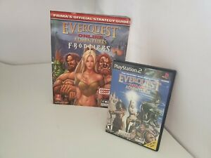 Everquest Online Adventures Frontiers Juego & Estrategia Guía PS2 PLAYSTATION 2