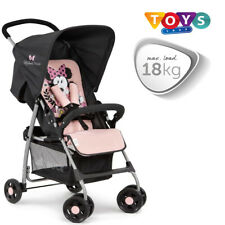 Hauck Disney Sport Lightweight Pushchair Buggy Pram Minnie Sweetheart Pink New||