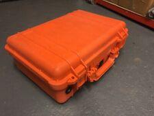 Pelican PELI CASE 1500 Storm DSLR Drone stockage sécurisé Orange Portable