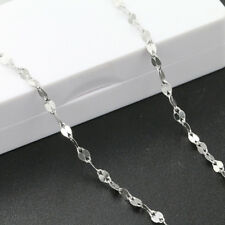 Wholesale Jewelry 925 Silver Chain Women Necklace 16-24 Inch Gift Solid Fashion