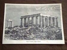 Tempio di Minerva a Egina Grecia