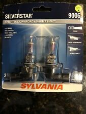 SYLVANIA 9006 SilverStar High Performance Halogen Headlight Bulb, 2 Bulbs