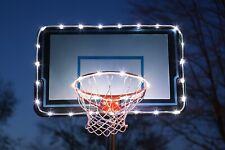 White Led Lights for Hoop & Backboard