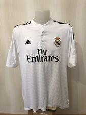 Real Madrid 2014/2015 home Size 2XL Adidas shirts jersey maillot football soccer