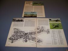 VINTAGE..OV-1B MOHAWK HISTORY..HISTORY/PHOTOS/CUTAWAY.RARE! (350L)