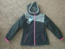 BRAND NEW ZEROXPOSUR GIRLS MIDWEIGHT JACKET SIZE 14 WATER WIND RESISTANT