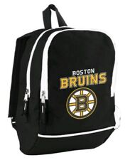 Boston Bruins NHL Black Team Logos 12'' Mini Backpacks Backpack/Bag