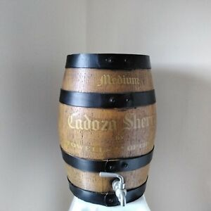 """Attractive Cadoza Sherry Barrel Stowells of Chelsea 13.5"""" Height 4kg Weight"""