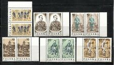 BICYCLE HISTORY, WARSAW CYCLISTS SOCIETY ON POLAND 1986 Scott 2776-2781 x 2, MNH