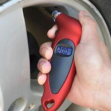LCD Digital Tire Tyre Air Pressure Gauge Tester 100PSI For Car Van Motorcycle