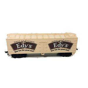 HO Life-Like Edy's Ice Cream 40' Advertising Reefer Car Freight Car Train