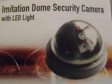 4 x Imitazione Finto Dummy Dome Telecamera CCTV di sicurezza con luce LED