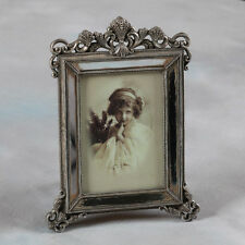 "Ornate Antique Silver Vintage Style Photo Photograph Picture Frame 7 x 5"" Gift"
