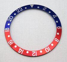 RED BLUE BEZEL INSERT FOR ROLEX GMT PEPSI WATCH 16700 16710 16760 UK