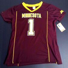 NEW University of Minnesota U of M Women's Football Jersey - Size Large 12/14