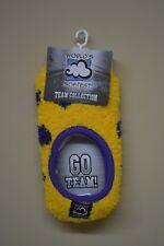 LSU Tigers Colored Polka Dot Footsie Socks
