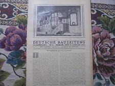 1920 Bauzeitung 3 / Tiegenort Neuteich Westpreußen