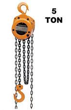 Harrington Manual Hand Chain Hoist Cf Series 5 Ton 10 Ft Lift