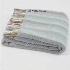 Striped 100% Wool Decorative Throws