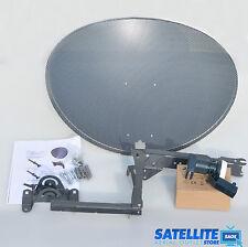 Freesat / Sky 60cm zone 1 satellite dish & quad lnb
